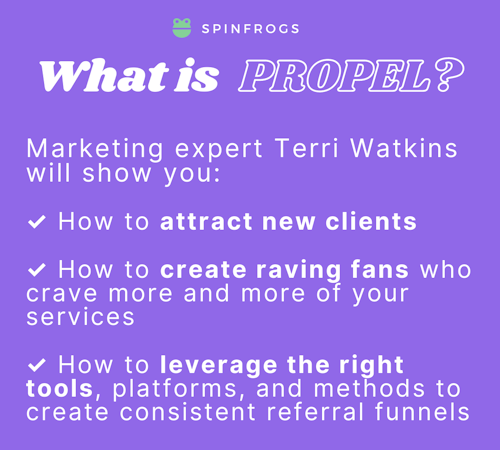 What is PROPEL? Marketing expert Terri Watkins